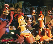 barn scene from Chicken Run