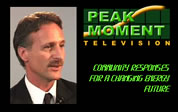 picture of Steven Ribeiro next to the words Peak Moment Television; click to go to audio/video page; opens in new window
