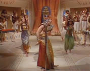 funny ancient egypt video link; thumb of steve martin as king tut