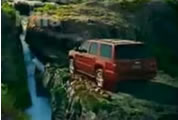 chevy tahoe in outdoor setting; link for funny animation; opens in new window