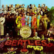 album cover for The Beatles, Sgt. Pepper's Lonely Hearts Club Band