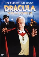DVD cover for Dracula - Dead and Loving It; click to view on Amazon dot com
