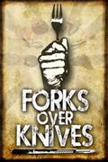 DVD cover for Forks Over Knives