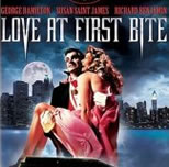 DVD cover for Love At First Bite; click to view on Amazon dot com
